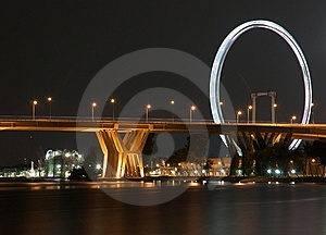 Fast Forward Ferris Wheel Royalty Free Stock Photo - Image: 14110495