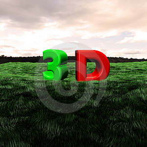 3d Scape Royalty Free Stock Photography - Image: 14113117