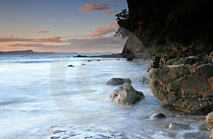 Rocky Shoreline Royalty Free Stock Image - Image: 14113166