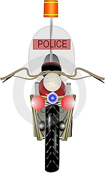 Police Motorcycle Royalty Free Stock Images - Image: 14113859
