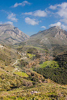 Landscapes At Preveli Royalty Free Stock Image - Image: 14114156