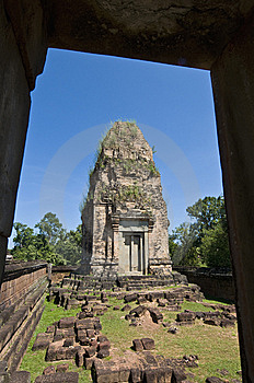 Angkor Temples Royalty Free Stock Images - Image: 14116289