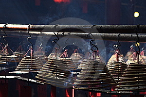 Incense Tower Royalty Free Stock Photo - Image: 14120295