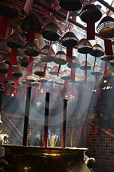 Incense Stock Photo - Image: 14120300