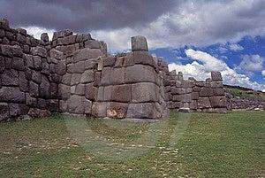 Sacsayhuaman Walls, Cuzco, Peru. Royalty Free Stock Photos - Image: 14121358