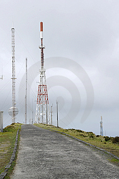 Antenna Power Royalty Free Stock Photo - Image: 14121765