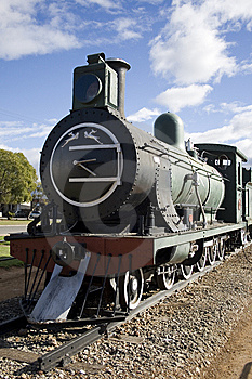 Train Locomotive Museum Royalty Free Stock Images - Image: 14121799