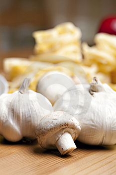 Cooking With Italian Ingredients Stock Photo - Image: 14122440