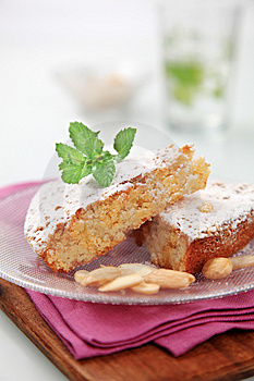 Sponge Cake Royalty Free Stock Photo - Image: 14125775
