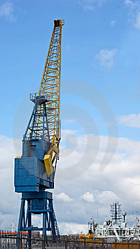 Dockside Crane Stock Photos - Image: 14125973