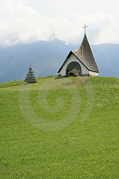 Mountain Chapel Stock Photos - Image: 14128723