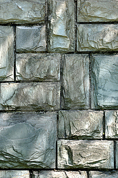 Stone Wall With Light And Shadow Stock Images - Image: 14129994