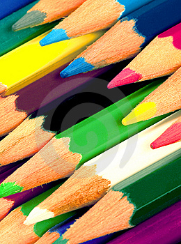 Colored Pencils Stock Images - Image: 14131414