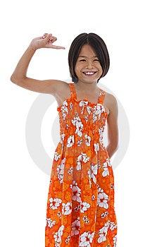 Cute Asian Girl Stock Image - Image: 14131661