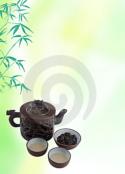 Chinese Tea Template Stock Photography - Image: 14133272