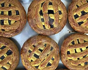 Pie With Cherry Jam Stock Photo - Image: 14133440