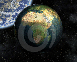 Earth In Space Royalty Free Stock Images - Image: 14134919