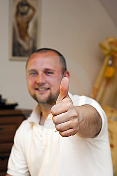 Thumbs Up Stock Photo - Image: 14140370