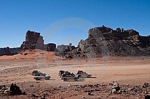 Algeria Sahara Mountains Landscape Royalty Free Stock Images - Image: 14141709