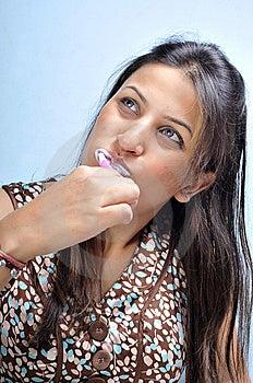 Teeth Brushing Stock Photography - Image: 14143682