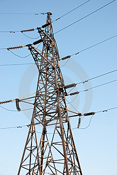 High Voltage Electric Power Line Stock Photos - Image: 14145203