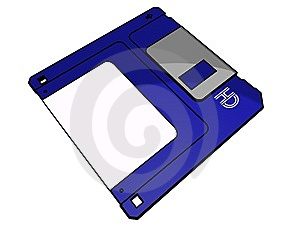 3.5 Floppy Disk Royalty Free Stock Photography - Image: 14145977