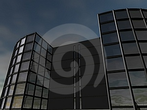 Business Building Stock Image - Image: 14146211