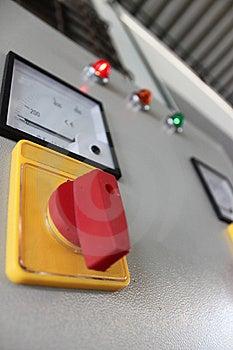 Volt Meter For Transportation Stock Photos - Image: 14147263