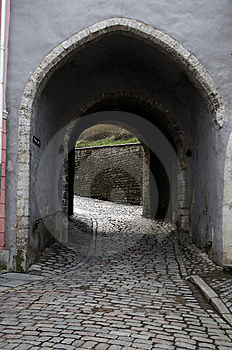 Medieval Architectural Arches Royalty Free Stock Photos - Image: 14150188