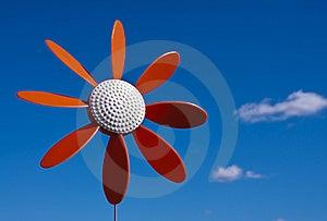 Plastic Flower Windmill Royalty Free Stock Photo - Image: 14153725