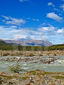 FitzRoy River, Cerro Torre, El Chalten,Argentina Stock Photo - Image: 14156170