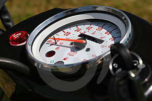 Speed Meter Royalty Free Stock Image - Image: 14157296