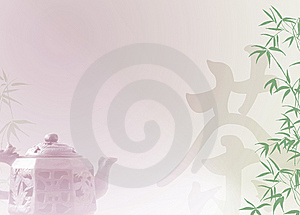 Chinese Tea Template Royalty Free Stock Images - Image: 14157799