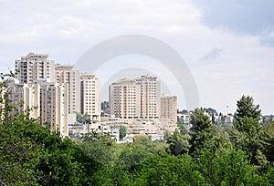 Modern Jerusalem Royalty Free Stock Image - Image: 14157836