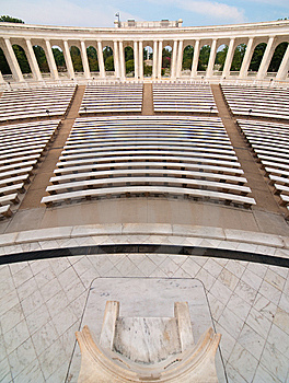Memorial Amphitheater Stock Images - Image: 14158744