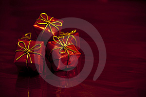 Red Gifts Royalty Free Stock Images - Image: 14159839