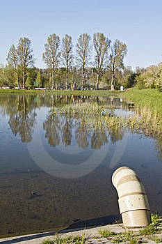 Water Pollution. Stock Photos - Image: 14161603