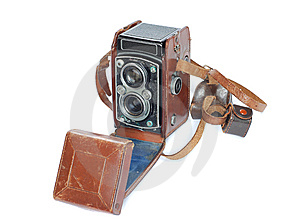 Vintage Medium Format Camera Stock Photos - Image: 14162093