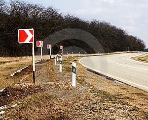 Road Turn Stock Photos - Image: 14162203