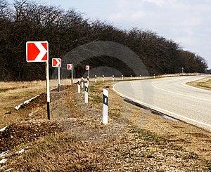 Road Turn Stock Photos - Image: 14162203