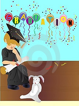 Graduating Of Upper Class, With Honours... Stock Photos - Image: 14162633