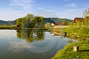 Lake Relaxation Royalty Free Stock Photo - Image: 14162925