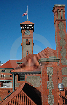 Train Station  Stock Photography - Image: 14165032