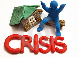 Crisis Stock Image - Image: 14166321