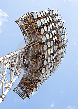 Stadium Light Tower Stock Image - Image: 14166791
