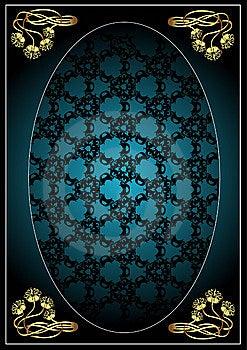 Art Nouveau Banner Stock Image - Image: 14166841