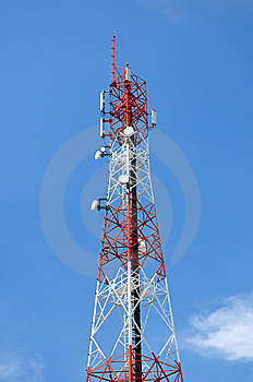 Signal Tower Royalty Free Stock Images - Image: 14168549