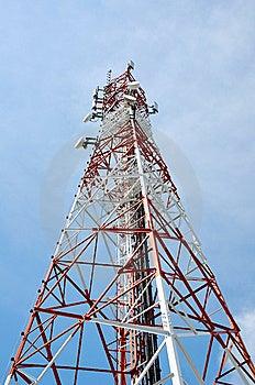 Signal Tower Stock Photo - Image: 14168740
