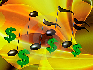 Financial Music Symphony Royalty Free Stock Photos - Image: 14170088