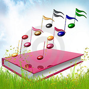 Colorful Music Notes Icon Illustration Stock Photography - Image: 14171402